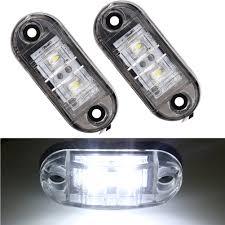 12v 24v 2pcs universal car side light led side marker lights