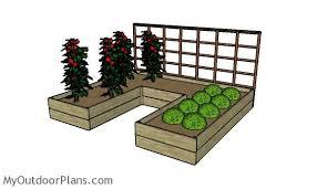 diy raised garden bed plans myoutdoorplans free woodworking