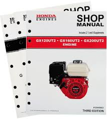 amazon com honda gx120 gx160 gx200 ut2 engine service repair shop