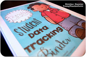 Binder Decorating Ideas Math And English Language Arts Student Data Tracking Binders And A