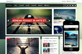 Znewspaper Free Bootstrap Theme Zerotheme Themes Templates