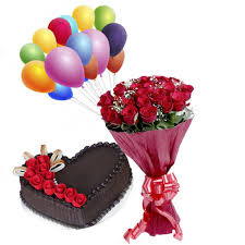 cake and balloon delivery cake balloons rosy order birthday cake flower online same