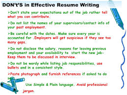 Reason For Leaving On Resume Examples by Effective Resume Writing