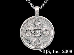 palladium sterling silver aon rao pendant from elantris by brandon sanderson
