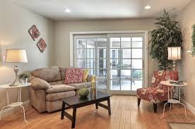 Stanley Patio Doors Contemporary Living Room With Hardwood Floors By Lehman