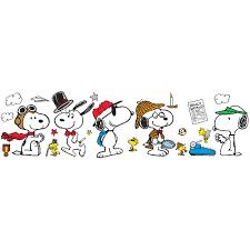 Peanuts Year Round Snoopy Poses Bulletin Board Set Eureka