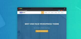 cara membuat website via html create website with one page wordpress theme tutorial inkthemes