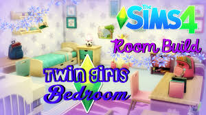 the sims 4 room build twin girls bedroom youtube