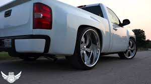 Wide Rims For Chevy Trucks Widebody Chevy Silverado Rides Magazine
