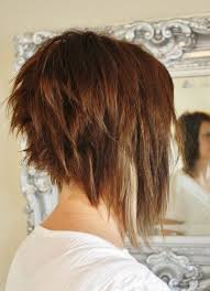 mid length hair cuts longer in front i like the back of this look too long in the front though even