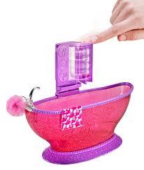 Amazon Bathroom Furniture by Amazon Com Barbie Bath To Beauty Bathroom Set Toys U0026 Games