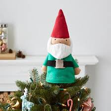 high point tree topper gnome the land of nod craftys