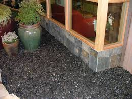 garden ideas black rock for landscaping rock for landscaping to