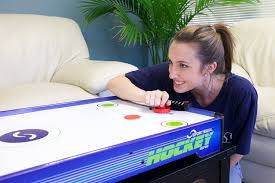 How To Clean Air Hockey Table Amazon Com Sport Squad Hx40 Electric Powered Air Hockey Table