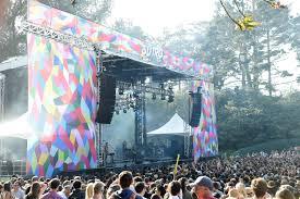 Outsidelands Map Outside Lands Music Festivals Eventful