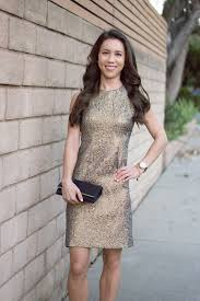 gold holiday party dress wedding guest attire nordstrom and