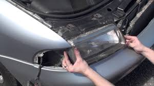 audi a4 headlight bulb replacement change or remove headlights on a audi a4 b5