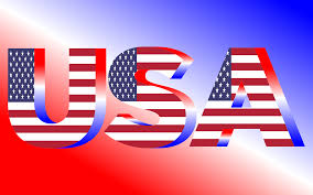 Usa Flag Photos Clipart Usa Flag Typography Red White And Blue