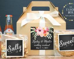 welcome baskets for wedding guests welcome bags etsy