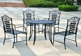 wrought iron outdoor dining table wrought iron patio table image of vintage wrought iron patio