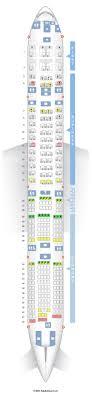siege transavia seatguru seat map boeing 777 300er 77w v1
