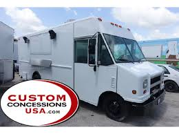 Commercial Kitchen For Sale by New U0026 Used Food Trucks For Sale Custom Concessions
