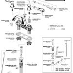 Bathroom Sink Faucet Parts Diagram American Standard Kitchen - Kitchen sink faucet parts diagram
