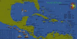 Pirates Map World Of Pirates Map