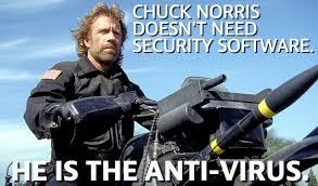 Tech Meme - friday fun if chuck norris worked in it