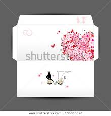 wedding envelope wedding envelope stock images royalty free images vectors