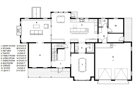 leed certified house plans traditional style house plan 4 beds 2 50 baths 4279 sq ft plan
