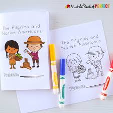 pilgrims book thanksgiving free printable easy reader book pilgrims and