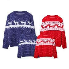 knitted family sweaters
