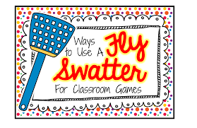 the classroom game nook using a fly swatter for games