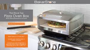 stovetop pizza oven stove top pizza oven box kit gas only