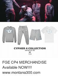Meme Merchandise - ve cypher 4 collection montana300 com 728 fge cp4 merchandise