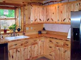 Knotty Pine Kitchen Cabinet Doors Coffee Table Pine Kitchen Cabinets Rustic Cabin Remodeling