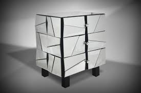 Black Glass Bedroom Furniture by Furniture Round Mirrored Nightstand Cheap For Cool Bedroom