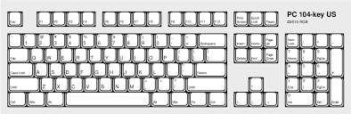 keyboard layout ansi pc and vt100 keyboard layouts compared redgrittybrick