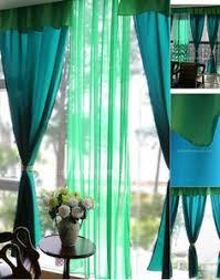 Bright Blue Curtains Exclusive Fabrics Peacock Vintage Faux Textured Dupioni Silk