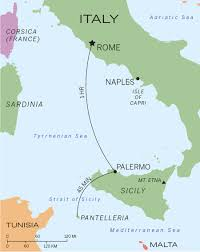 Capri Italy Map by Relaxing On The Chic Italian Island Of Pantelleria