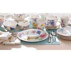 lenox butterfly meadow 28 piece porcelain dinnerware set page 1