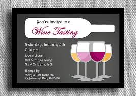 stock the bar shower wine tasting invitation printable or printed with free shipping