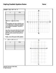 graphing quadratics worksheet free worksheets library download