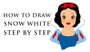how to draw disney princess characters for beginners snow white