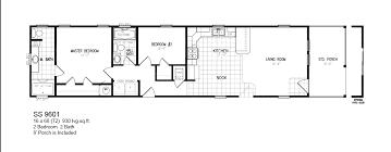 4 Bedroom Single Wide Floor Plans Double Wide Floor Plans 2 Bedroom Pyihome Com