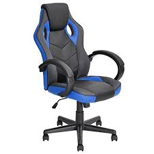 chaise de bureau racing chaise de bureau racing en cuir pu à dossier haut ergonomique