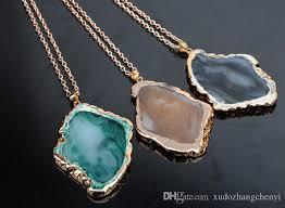 pendant necklace long chain images 2016 european and american hot sale resin pendant necklace long jpg