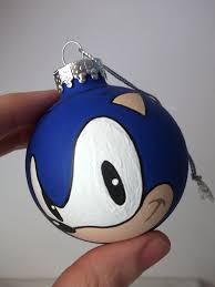 sonic the hedgehog painted ornament pots