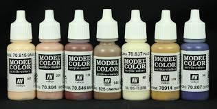 art and musings of a miniature hobbyist a skin tone experiment